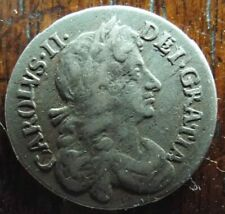 Charles II Maundy Three Pence Coin