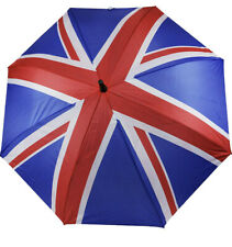 Union Jack UK Flag Auto Open Golf Umbrella