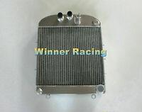 Fit Renault 4CV/750/760/4/4 1947-1961 49 50 60 aluminum radiator/radiateur 56mm