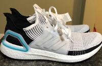 Adidas Ultra Boost 19 Running Sneaker White/Collegiate Royal G54012 Men Size 9.5