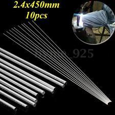 10pcs 450 x 2.4mm Low Temperature Welding Brazing Rods For Aluminium Repair