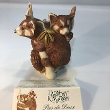 "Harmony Kingdom ""Pas De Deux"" Red Panda Box Figurine Tjpa2"