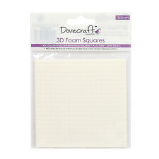 DOVECRAFT SMALL DOUBLE SIDED FOAM 5MM SQUARES (400 SQUARES)