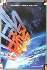 "Original Star Trek Iv Movie Promo Mini Poster 13""x20""- One Sheet Art (Mfpo-13"