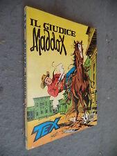 TEX 3 STELLE TRESTELLE  # 185 - IL GIUDICE MADDOX - BONELLI