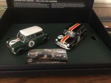 Scalextric Digital Mini Coopers 1964 ATCC Legends Limited Edition C3586A BNIB