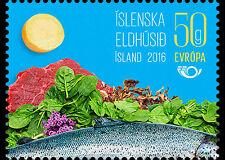 Iceland  2016  Nordic  food        mnh/postfris us