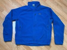 Patagonia Polartec Regulator Fleece Full Zip Jacket Men's SZ XL Blue