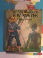 THE ADVENTURES OF TOM SAWYER SOFTCOVER Saalfield Big Little Book 1308