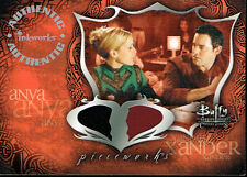 BUFFY THE VAMPIRE SLAYER CONNECTIONS PIECEWORKS CARD PW2A ANYA & XANDER
