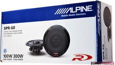 """Alpine SPR-60 6.5"""" Car Speakers / 6-1/2"""" Car Audio Speaker Type R Series SPR60"""