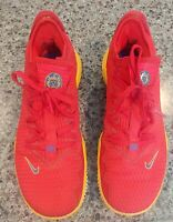 NIKE LeBron 16 SuperBron Mens Size 9.5 CK2168-600 Red Blue Yellow