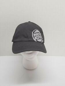 Burger King Crew Adjustable Black Ballcap