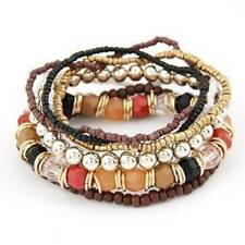 Mixed Kids Girls Elastic Bead Bracelets Favor Jewelry Charm Bracelet HD