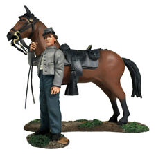 BRITAINS CIVIL WAR CONFEDERATE 31270 ORDERLY HOLDING HORSE MIB