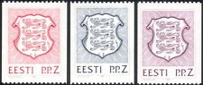 Estonia 1992 State Arms/Lions/Coats-of-Arms/Heraldry/Animals 3v coil set ee1075