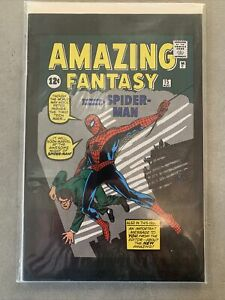Amazing Fantasy #15 Reprint 2001 1st Spider-Man Peter Parker
