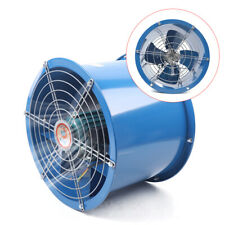 110v 16 Axial Fan Cylinder Pipe Spray Booth Paint Fumes Exhaust Fan