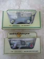 2x Matchbox Model Of Yesteryear Y10 Rolls Royce Silver Ghost Y12 Harrods Ford T