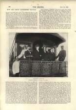 1896 comment Paderewski voyages privés des wagons de discuter avec un Birman prêtre