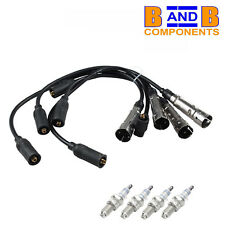 VW GOLF MK2 MK3 IGNITION LEAD SET + SPARK PLUGS C431