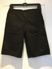 James Perse Black Cotton Bermuda Shorts 1 XS S Small New NWOT