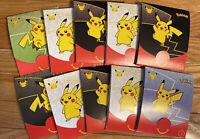 Pokemon Pack 25th Anniversary McDonalds Lot Of 10 Random Opened Packs - No Cards