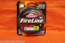 BERKLEY FireLine 20lb (125yd) Flame Green #BFLFS20-GG