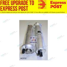 Wesfil Fuel Filter WCF52 fits BMW 5 Series 535 i (E39),540 i (E39)