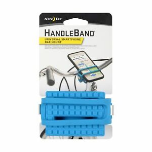 Nite Ize HandleBand Blue Universal Smartphone Bike Bar Mount Phone Holder