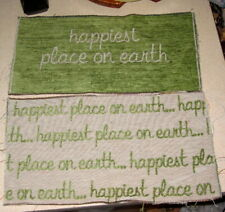 Disney - The Happiest Place on Earth Tapestry Pillow Top Fabric Piece