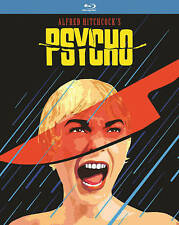 Alfred Hitchcock's PSYCHO (1960) (Blu-Ray, Vintage Slipcover) Brand New