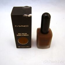 "MAC Nail Polish ""Hunnybun"" AA0 0.47 oz 14 ml NEW NIB Imp Discontinued"