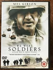 Mel Gibson - WE WERE SOLDIERS ~ Hard-Hitting 2002 Vietnam War Film UK DVD