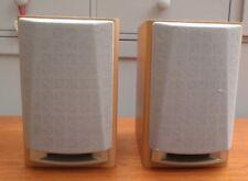 Sanyo  Bookshelf Speakers  4 Ohms 25W  21.4 cm d x16 cm w x 25 cm h