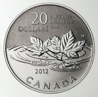 PURE FINE SILVER $20 COIN -  FAREWELL TO THE PENNY 2012  - CANADA