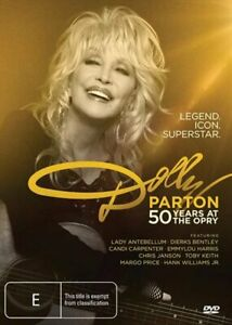 Dolly Parton - 50 Years At The Opry DVD