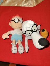 Rocky And Bullwinkle And Friends 9in. Sherman and Mr. Peabody Plushy
