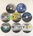 Sony PS2 PlayStation 2 Games Lot Bundle Sports Console Soccer Rugby League Golf