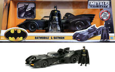 1989 Batmobile & Batman Figur Movie Figure 1:24 Jada Toys 98260