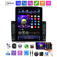 "1DIN Rotatable 10.1""Android 8.1 HD 1GB+16GB Bluetooth Car Stereo Radio GPS MP5"