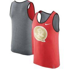 Mens Nike FSU Florida State Seminoles Matte Shine Tank Top Shirt Medium NWT $40