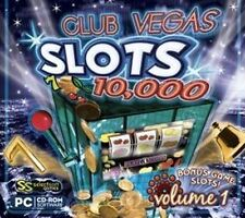 CLUB VEGAS Slots 10,000 Vol. 1  PC Win XP Vista 7 8  NEW  Slot Game Simulation