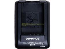 Olympus BCS-1 caricabatterie x batterie BLS-1 (E-PL1 E-PM1 E-P3 E-P1 E-620 ecc.)