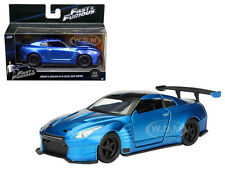BRIAN'S 2009 NISSAN GTR R35 BLUE BEN SOPRA FAST & FURIOUS MOVIE 1/32 JADA 98270