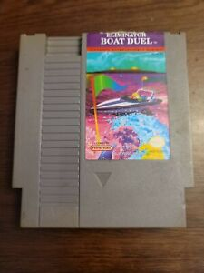 Eliminator Boat Duel (Nintendo Entertainment System) Game Only - Tested