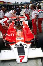 James Hunt McLaren M26 British Grand Prix 1978 Photograph 1