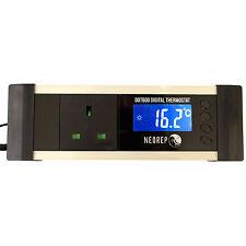 Digital Reptile Vivarium Aquarium LCD On/Off Thermostat Heat Mats Ceramic Heater