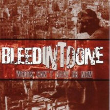 Bleed Into One - Words Can't Save Us Now CD CRO-MAGS JUDGE DEATH THREAT