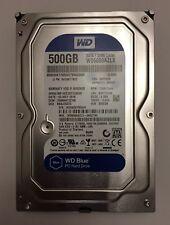 """WD Blue 3.5"""" Internal HDD SATA 6GB/s - 500GB, 32MB Cache, 7200RPM - WD5000AZLX"""